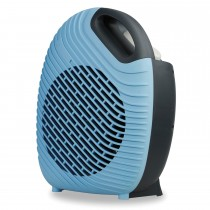 Blackspur 2kw Two Tone Fan Heater, Blue