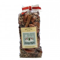 Made In England Pot Pourri 125g Snowy Night