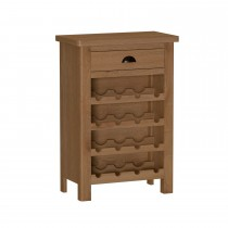 Casa Radstock Wine Cabinet, Brown