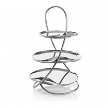 Drift V Cake Stand and Trays