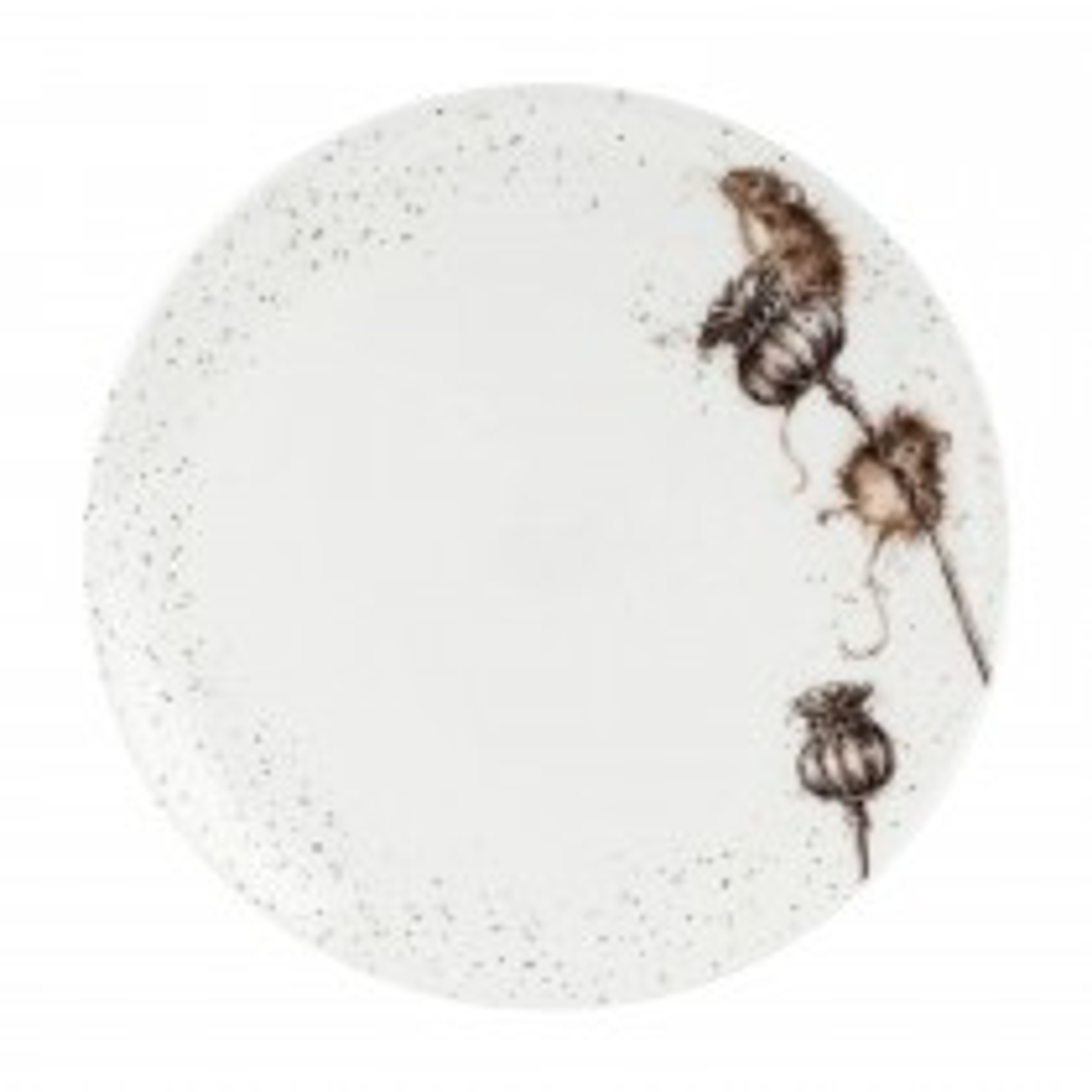 """Portmeirion Mouse 10.5"""" Coupe Plate, Asstd"""