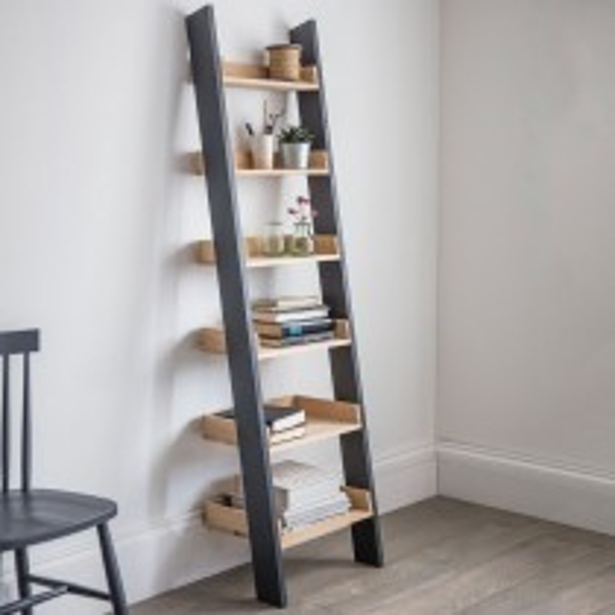 Garden Trading Clockhouse Shelf Ladder, Carbon