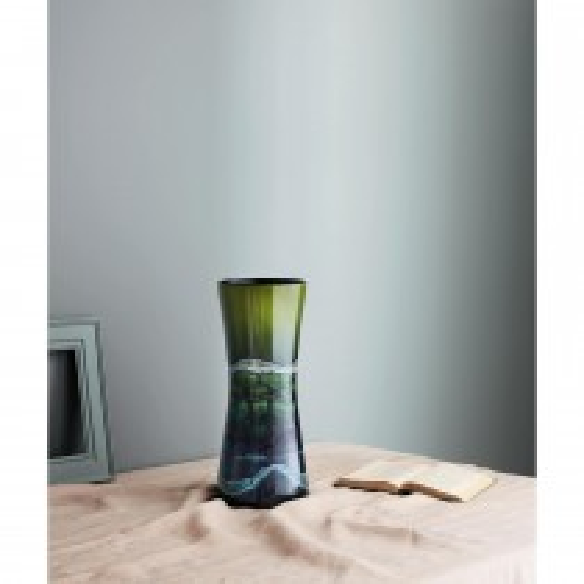 Poole Pottery Maya Hourglass Vase