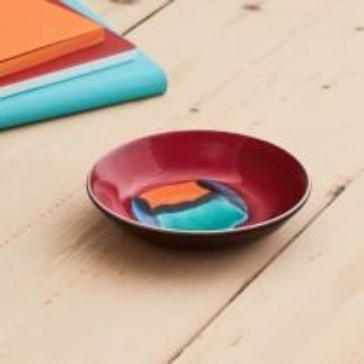 Poole Pottery Volcano Dish