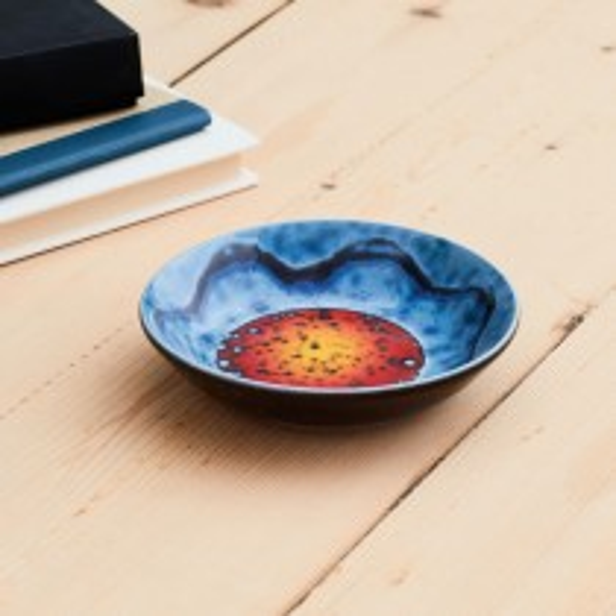 Poole Pottery Sunset Dish