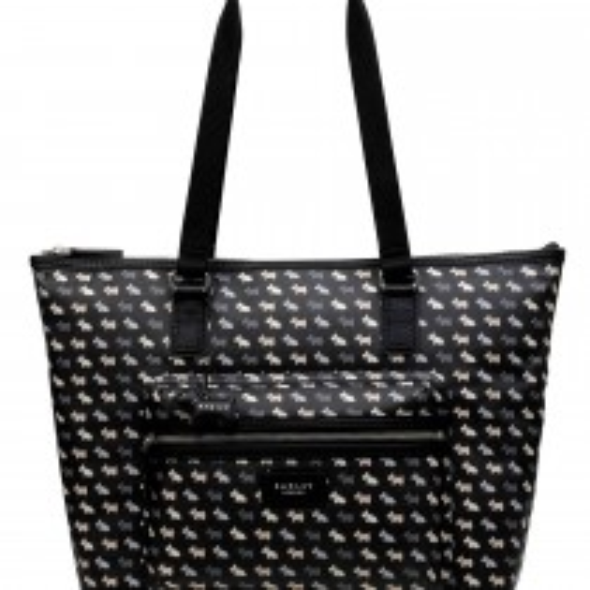 Radley Handbags Zip Top Tote Shoulder Bag, Navy