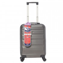 Usb All Lines 4 Wheel Cabin Case, Charcoal