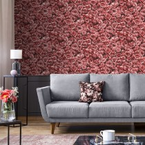Muriva Rosalee Wallpaper, Red