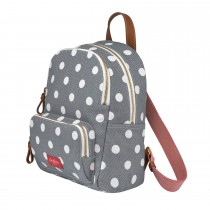 Cath Kidston Button Spot Backpack, Grey