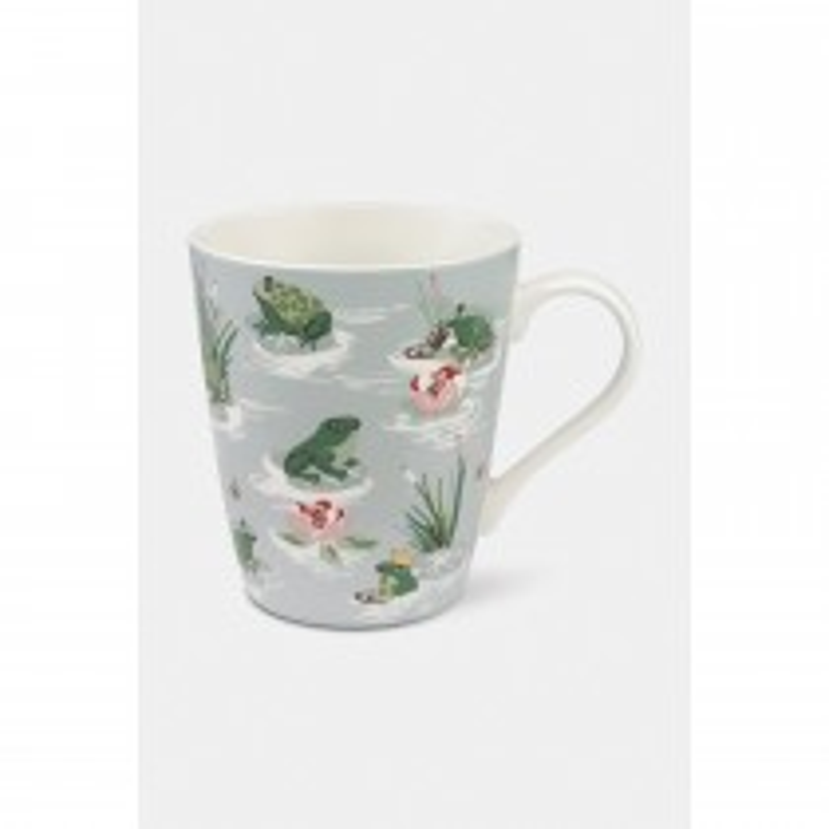 Cath Kidston Frogs Stanley Mug, Green/cream