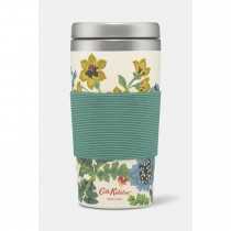 Cath Kidston T/garden Bamboo Travel Cup, Navy
