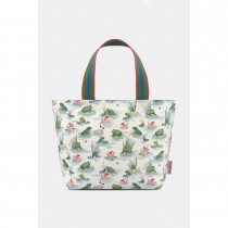 Cath Kidston Frogs Lunch Tote, Green/cream