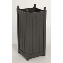 AFK Classic Tall Planter, Charcoal