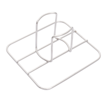 Char-broil Grill+ Beer Can Chicken Rack, Stainless Steel