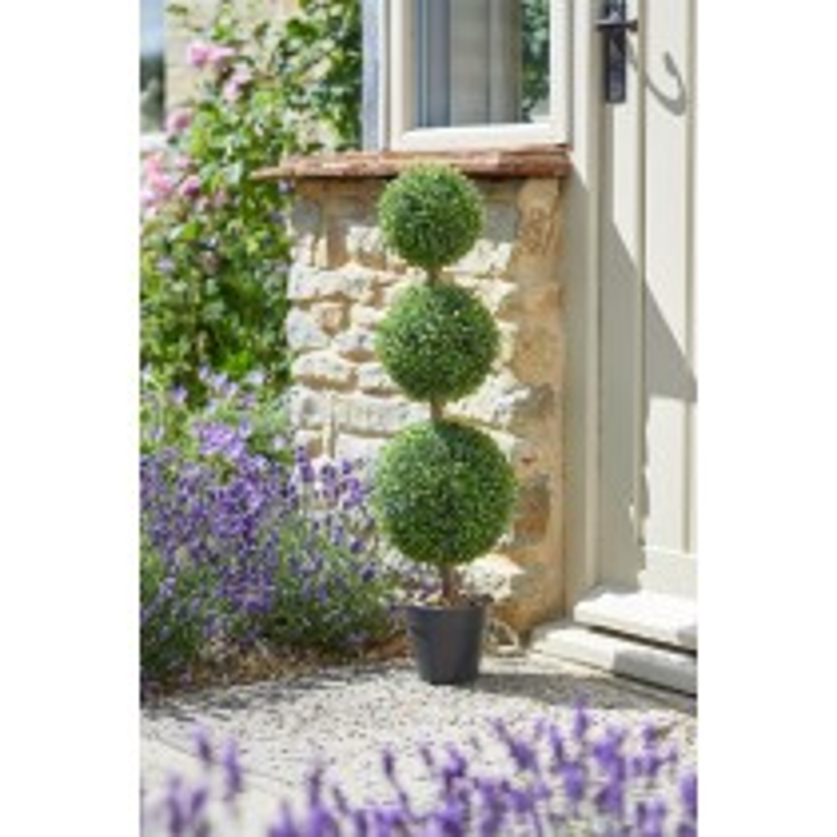 Smart Garden Trio Topiary Artificial Tree 80cm
