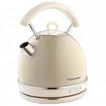 Ariete Vintage Dome Kettle, Cream