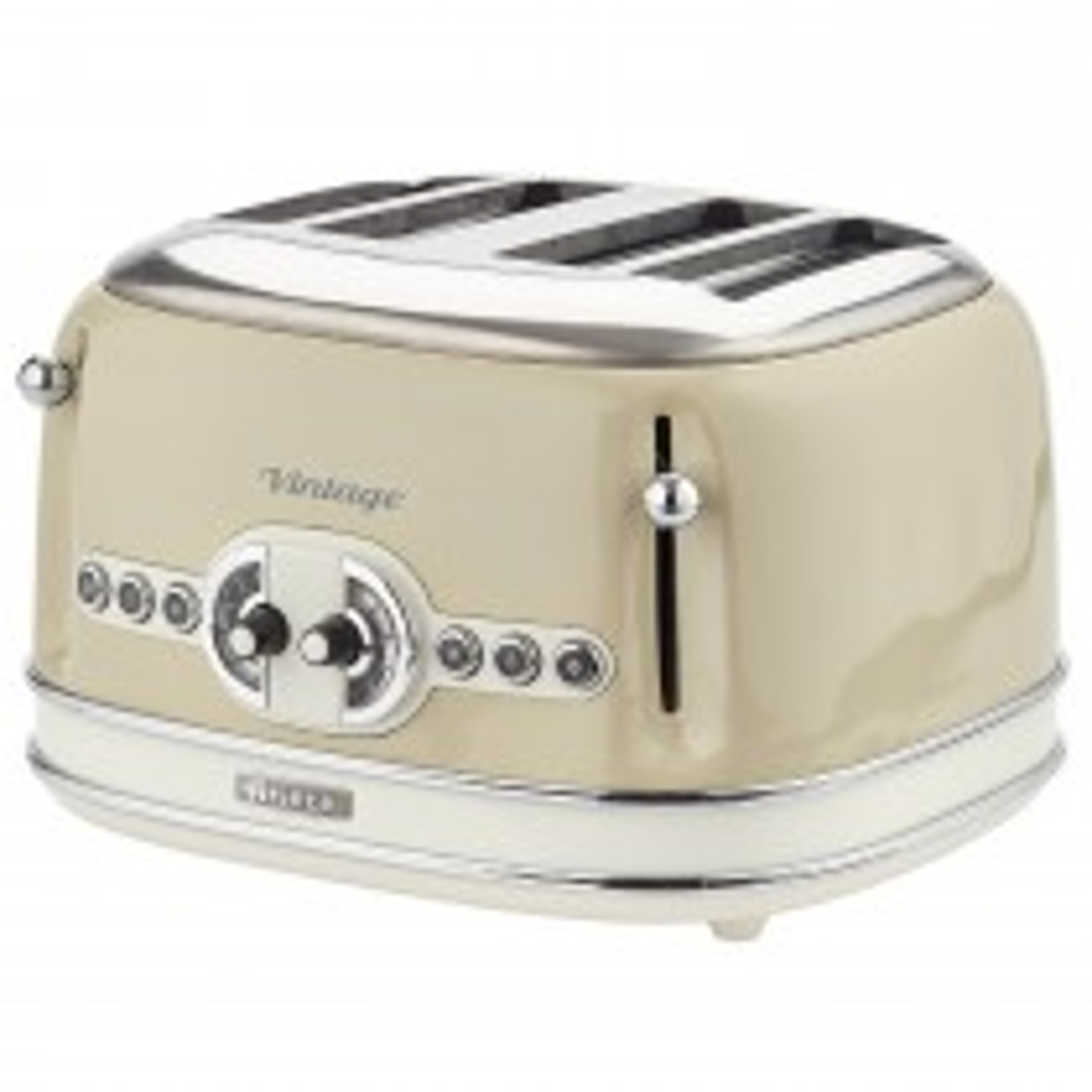 Ariete Vintage 4 Slice Toaster, Cream