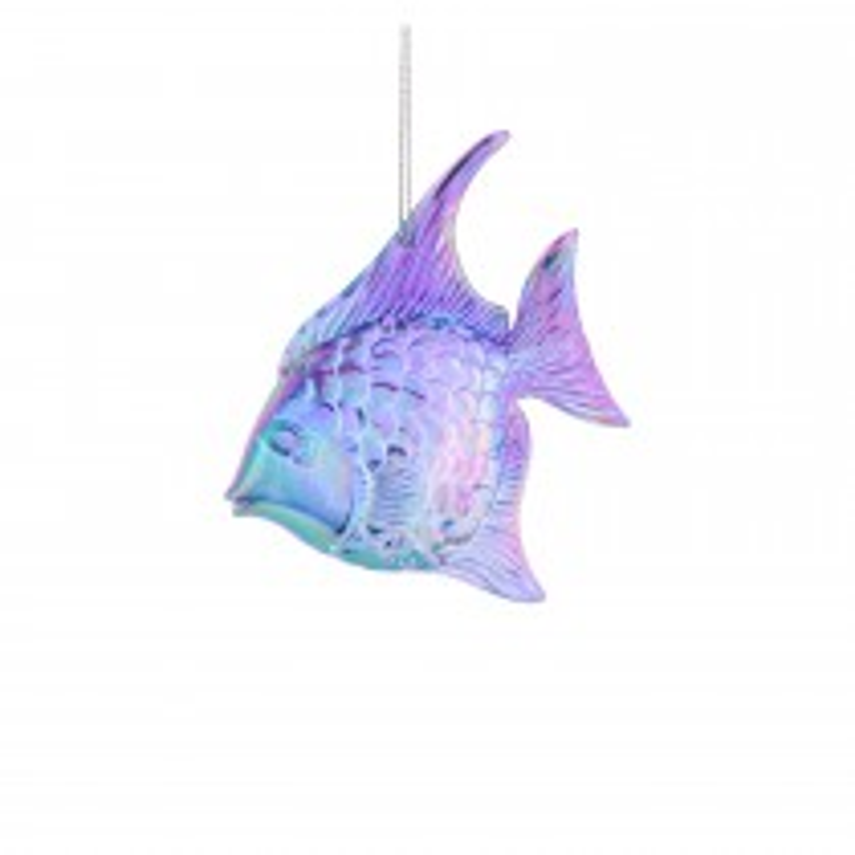Festive Ombre Fish Bauble