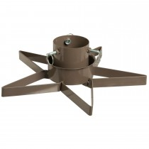 Festive Star Christmas Tree Stand, Gold
