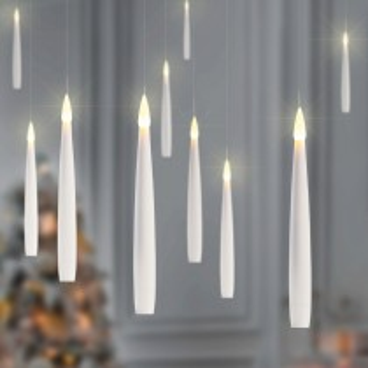 Floating LED Candles, Warm White