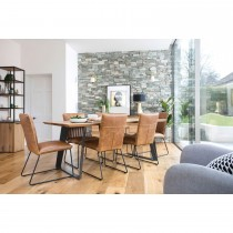 Casa Balham 180cm Table + 4 Chairs