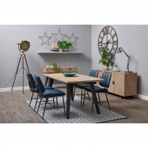 Casa Lund Table & 4 Chairs Dining Set