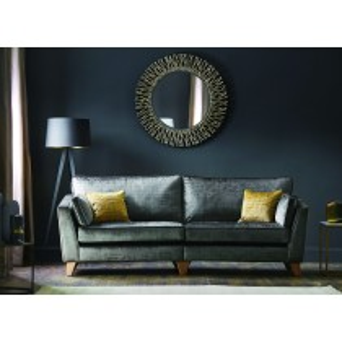 Casa Viscount 3 Seater Fabric Sofa