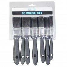 Extra 10 Piece Paint Brush Set