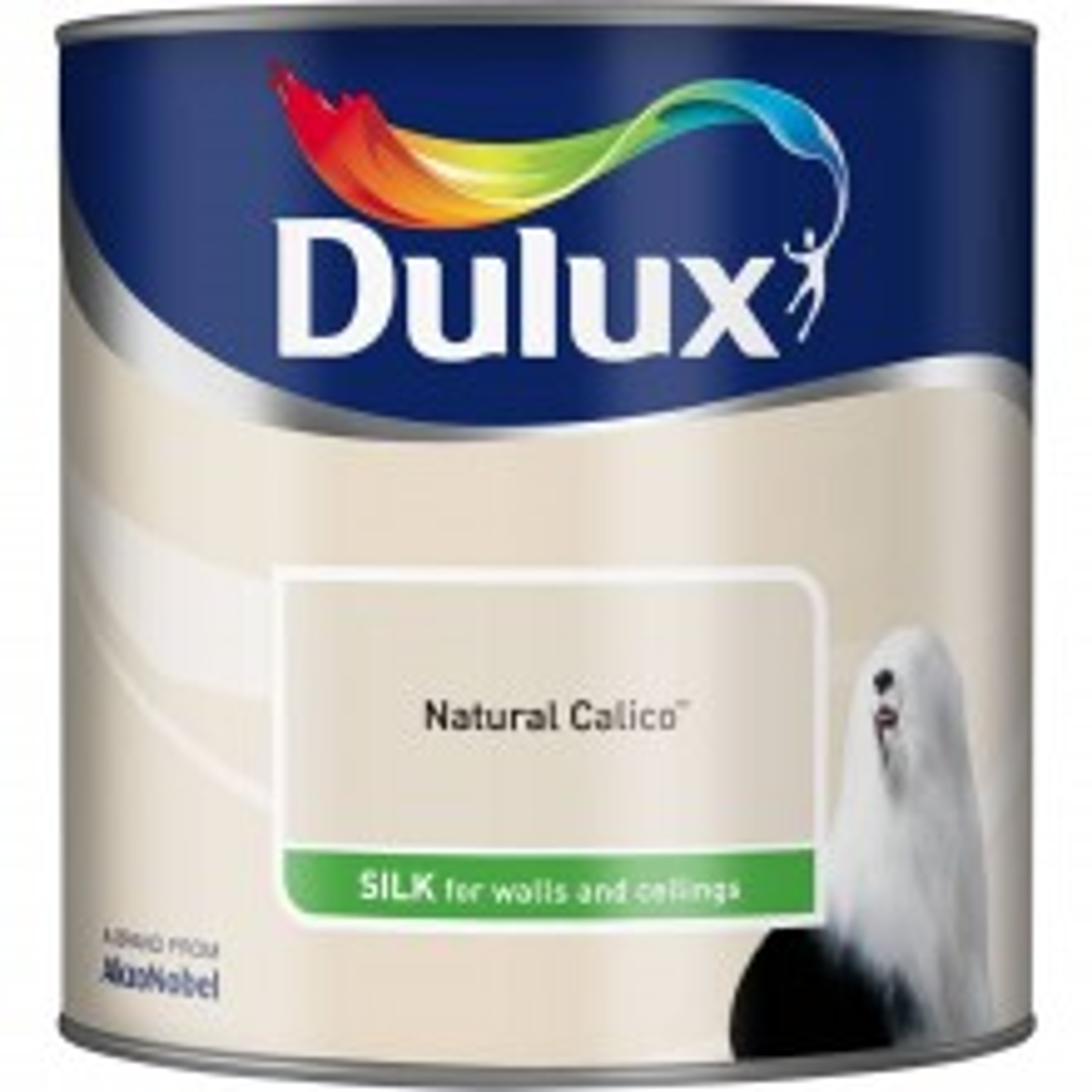 Dulux 2.5l Silk Standard Emulsion Paint, Calico