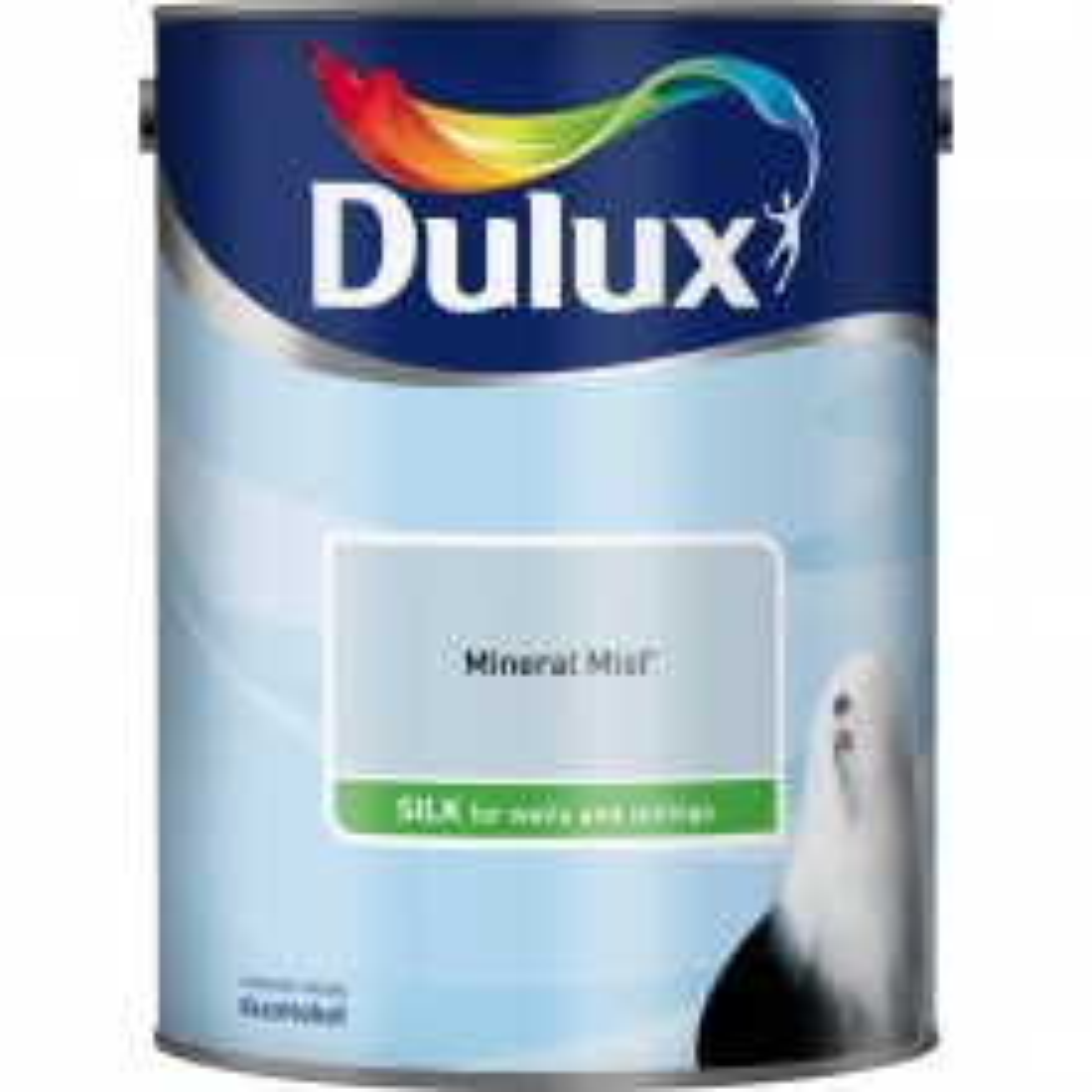 Dulux 2.5l Silk Standard Emulsion Paint, Mineral Mist