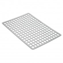 Addis Sink Mat Metallic