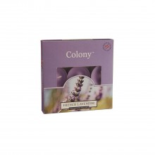 Colony Tealights French Lavender