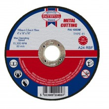 Faithfull 100x3.2x16mm Cut Off Wheel