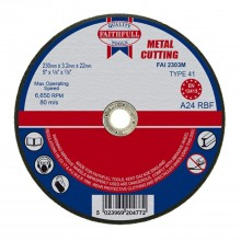 Faithfull 230x3.2x22mm Cut Off Wheel