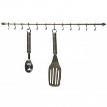 KitchenCraft Stainless Steel 52cm Utensil Hanging Rack