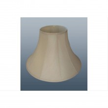 "18"" Cotton Bell Shade, Cream"