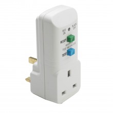 Jo-el 13a Rcd Plug-in Adaptor