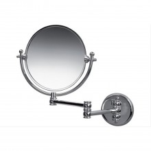 Miller Wall Mounted Extending Swivel Mirror, Chrome