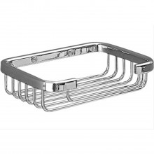 Miller Soap Basket Chrome Finish