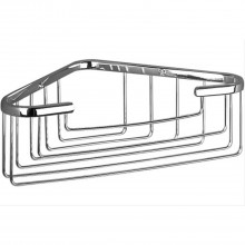 Miller Corner Basket Chrome Finish
