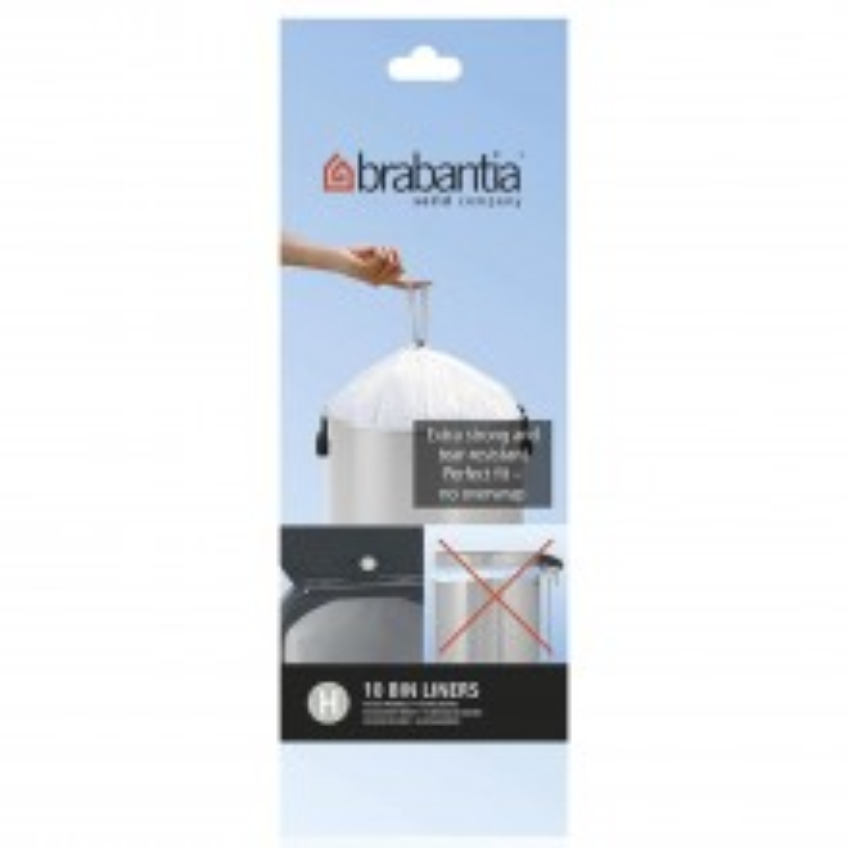 Brabantia 50l Bin Liners (pack Of 10)