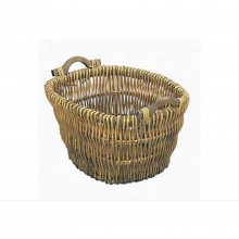 Manor Log Basket, Brown