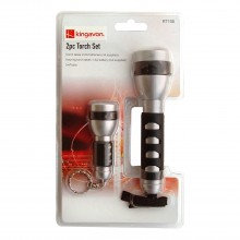 Black Spur 2 piece Torch Set
