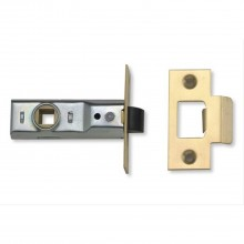 Yale Tubular Latch 2.5'', Brass