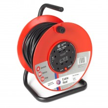 Jo-el 50 Metre 4 Socket Cable Reel