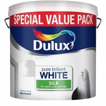 Dulux 5l Silk Pure Brilliant White