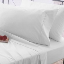 Belledorm 200 Thread Count Housewife Pillowcase, White