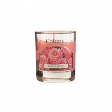 Colony Wax Filled Glass Small Rose