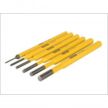 Stanley 6 Piece Pin Punch Kit