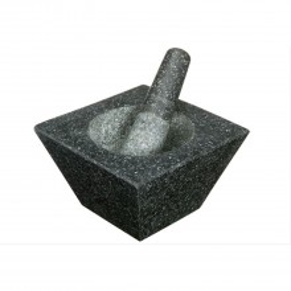 Kitchencraft Heavy Duty Square Granite Mortar And Pestle